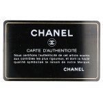 Authentic Chanel Camellia CC Logo Card Case Holder in Black Lambskin L11739