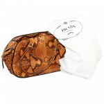 Prada Python Pittone Tote Bag Melograno L2231