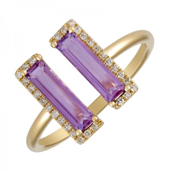 14KT Yellow Gold Gemstone Ring L25518