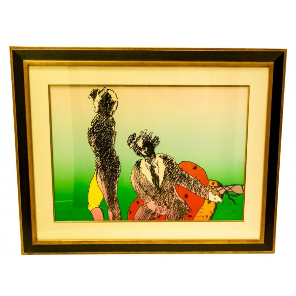 Peter Max Across the Room Lithograph 1982 A/P