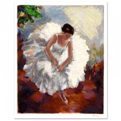 "Hedva Ferenci - ""Prima Ballerina"" Limited Edition Serigraph, Numbered and Hand Signed with Certificate of Authenticity."