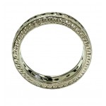 18KT White Gold 0.50tcw Diamond Eternity Wedding Band   WLG1LHH