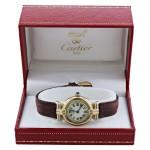 Vintage Ladies Must de Cartier Vermeil Quartz Watch