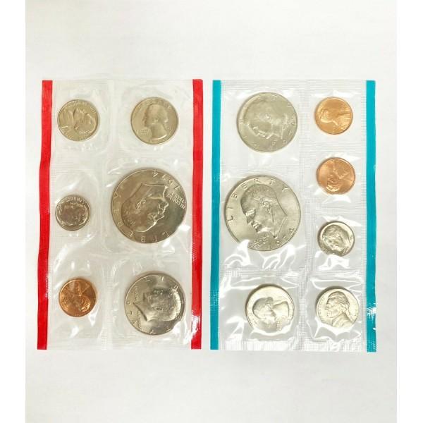 U.S. Mint 1974 Uncirculated Coin Set
