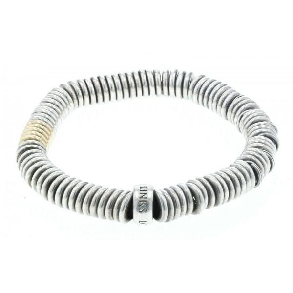 Links of London Sterling Silver & 18kt Yellow Gold Vermeil Womens Bracelet