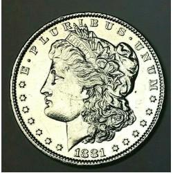 1881 US Silver Morgan Dollar WLG55LH