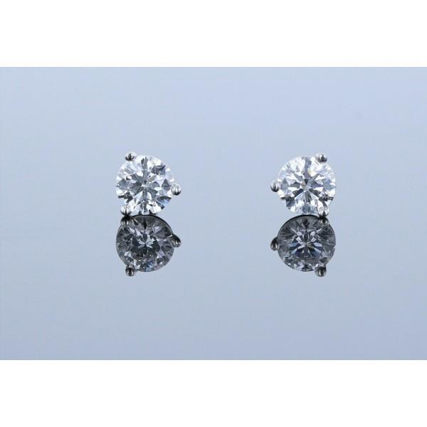 0.63ctw Certified Lab Grown Diamond Stud Earrings