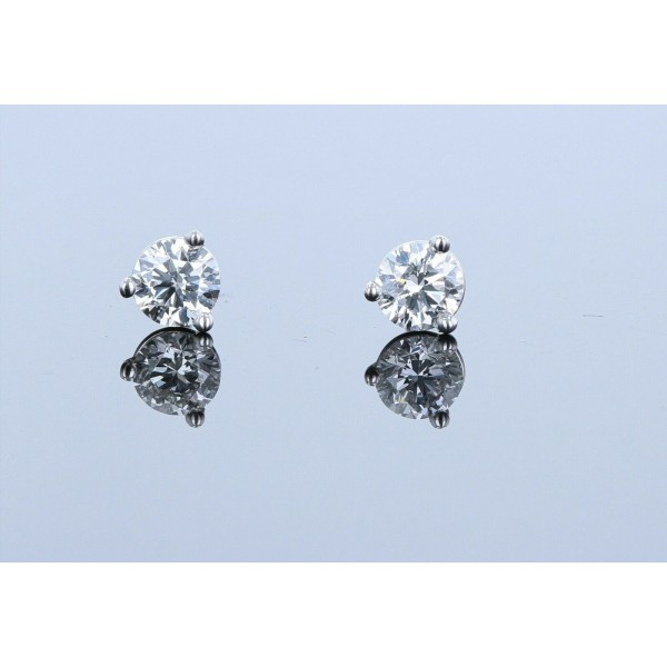 0.46ctw Certified Lab Grown Diamond Stud Earrings