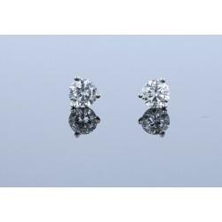 0.52ctw Certified Lab Grown Diamond Stud Earrings
