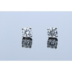 0.51ctw Certified Lab Grown Diamond Stud Earrings