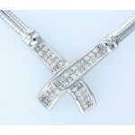 14kt White Gold 1.00ctw Diamond Necklace WLG71